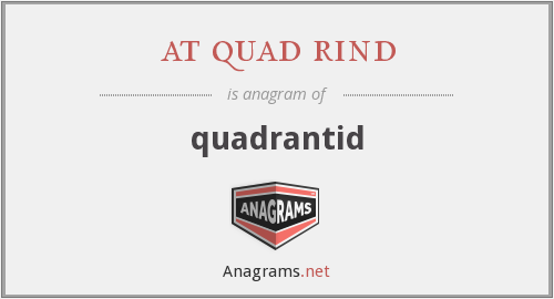 at quad rind - quadrantid