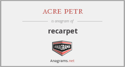acre petr - recarpet