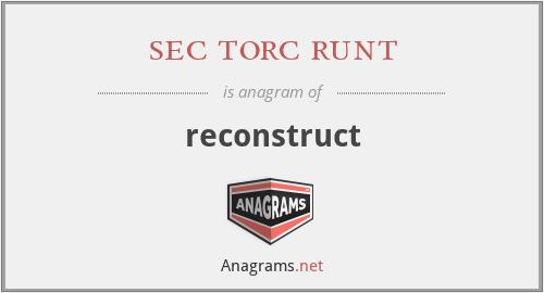 sec torc runt - reconstruct