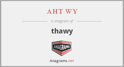 aht wy - thawy