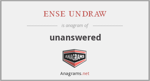 ense undraw - unanswered