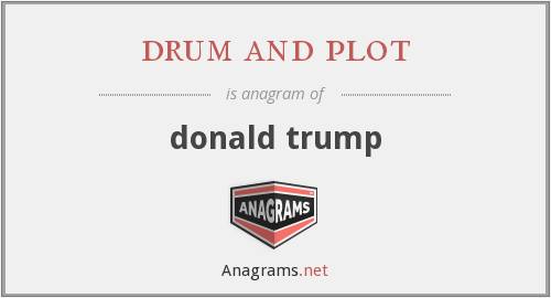 drum and plot - donald trump