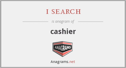 i search - cashier