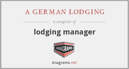 a german lodging - lodging manager