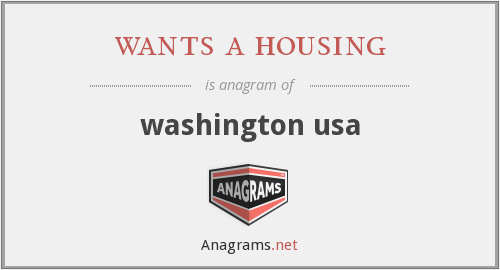 wants a housing - washington usa
