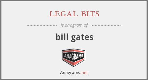legal bits - bill gates