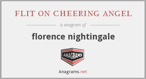flit on cheering angel - florence nightingale