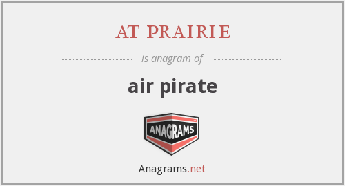 at prairie - air pirate