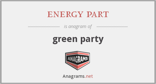 energy part - green party