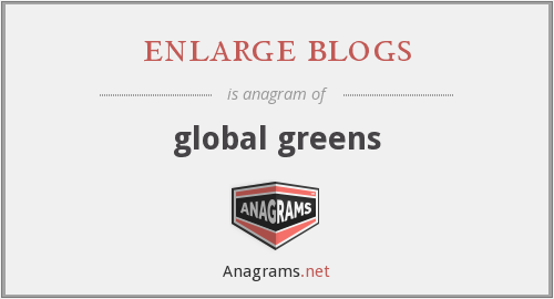 enlarge blogs - global greens