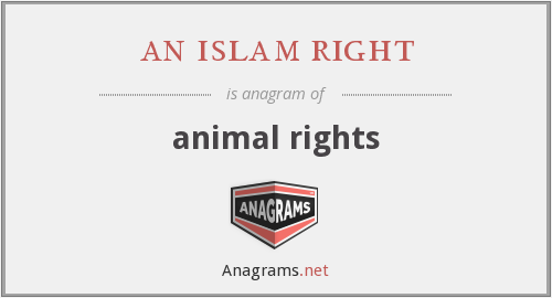 an islam right - animal rights