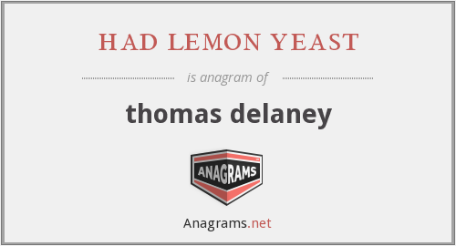 had lemon yeast - thomas delaney