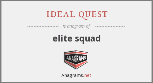ideal quest - elite squad