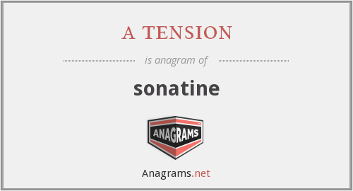 a tension - sonatine
