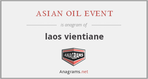 asian oil event - laos vientiane