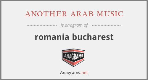 another arab music - romania bucharest