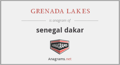 grenada lakes - senegal dakar