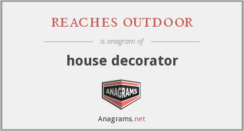 reaches outdoor - house decorator