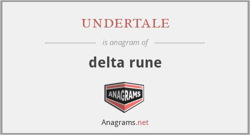 undertale - delta rune