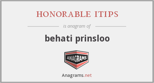 honorable itips - behati prinsloo