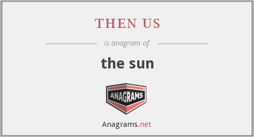 then us - the sun