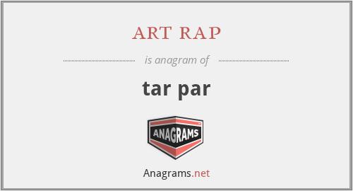 art rap - tar par