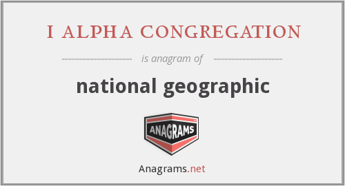 i alpha congregation - national geographic