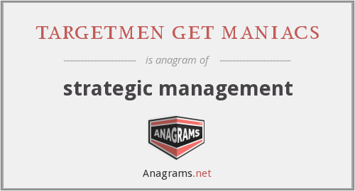 targetmen get maniacs - strategic management