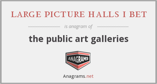 large picture halls i bet - the public art galleries