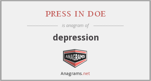 press in doe - depression