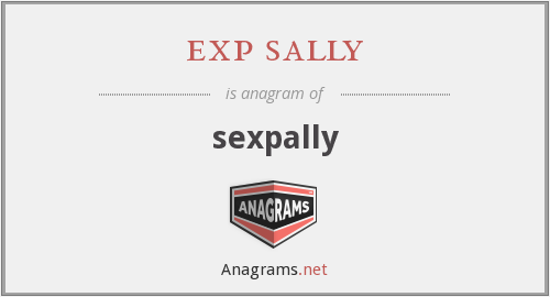 exp sally - sexpally