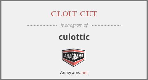 cloit cut - culottic