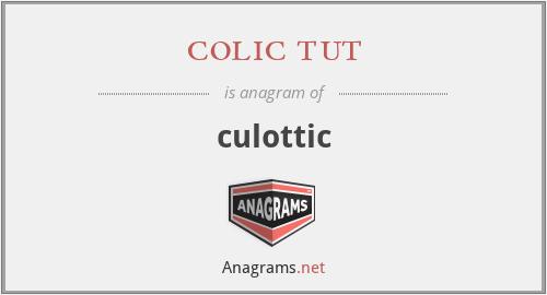 colic tut - culottic