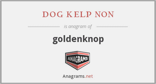 dog kelp non - goldenknop