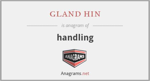 gland hin - handling