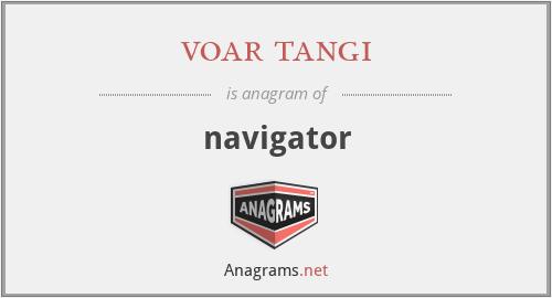voar tangi - navigator